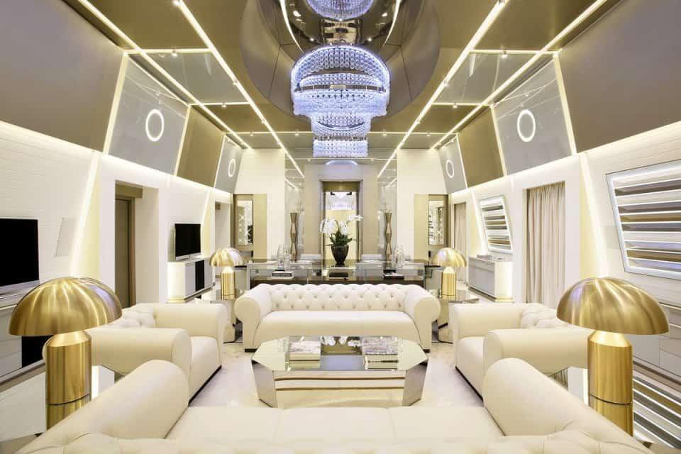 La suite 'Katara' en el Excelsior Hotel Gallia, coronada como la mejor suite de hotel del mundo en el 2016