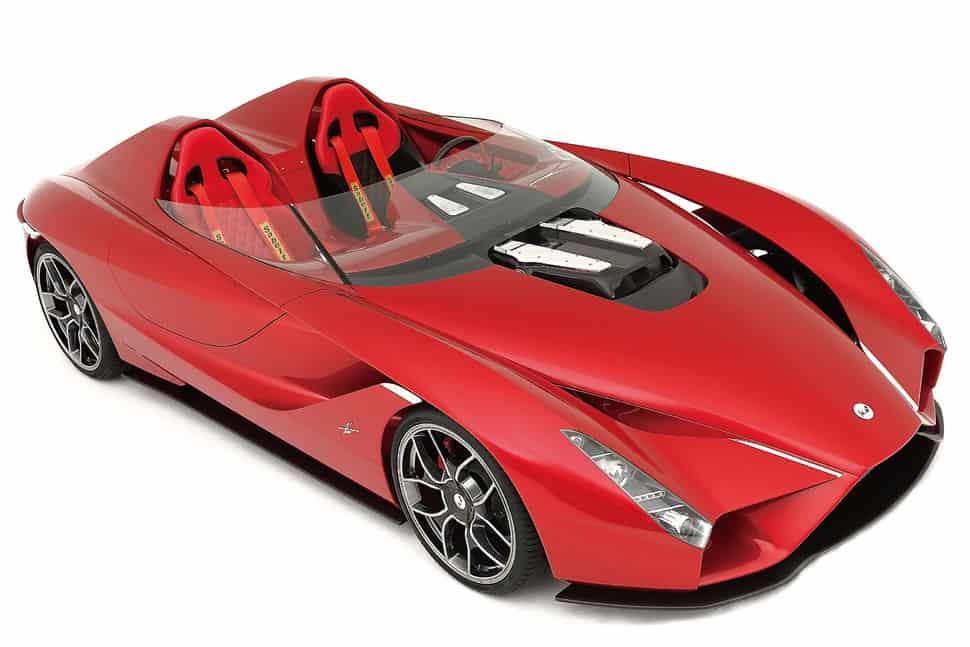 Ken Okuyama presenta el super coche