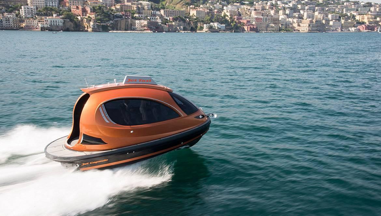 ¡Genial! Jet Capsule: La futurista embarcación súper lujosa para que los ricos se diviertan en el agua
