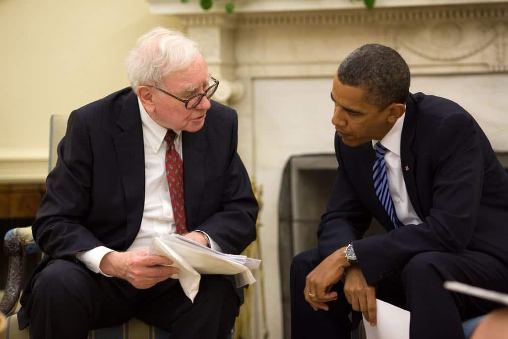 Warren Buffett y Barack Obama