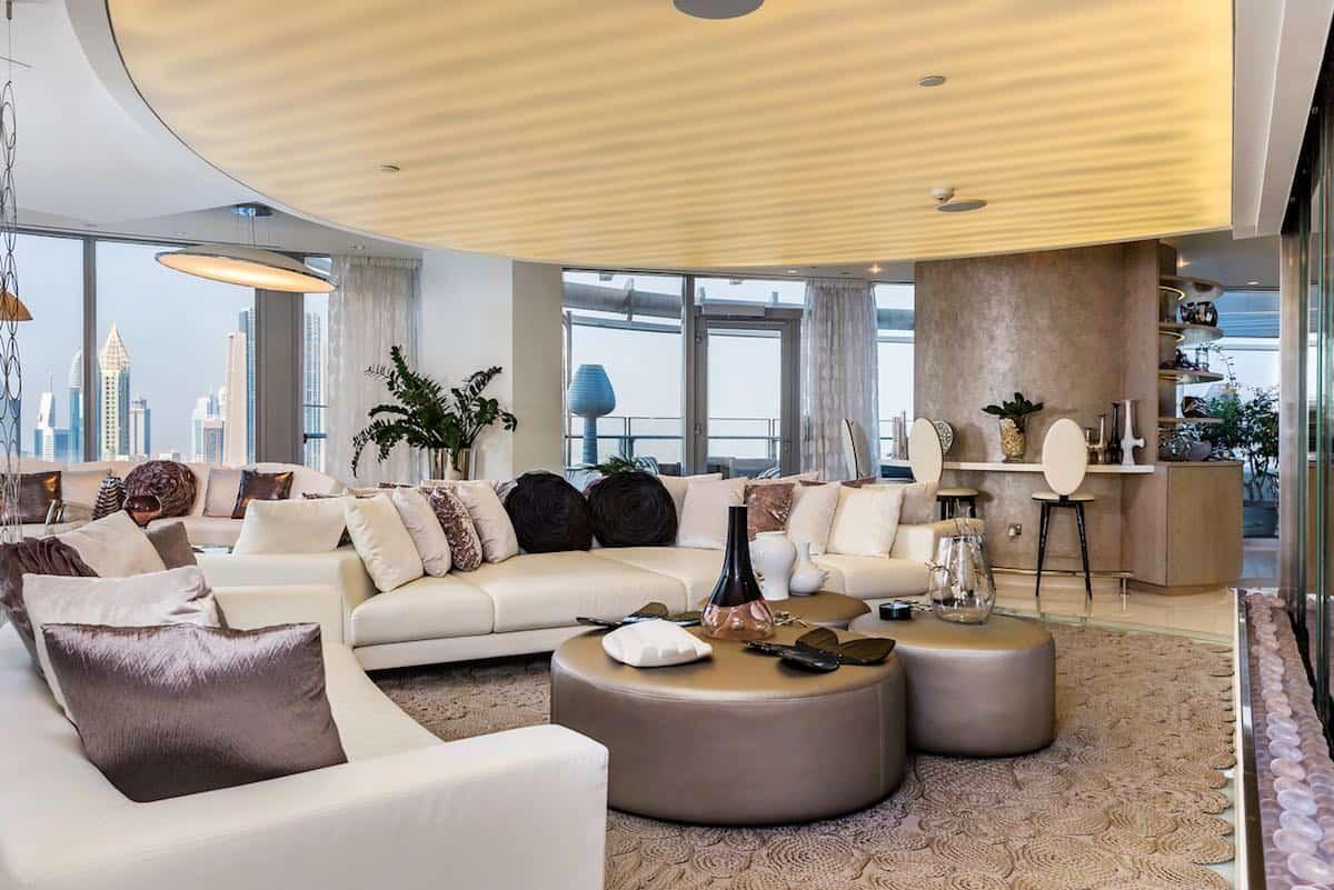 Mega opulento ático en Dubái sale a la venta por 50.000.000 AED