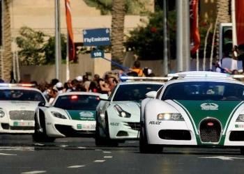 La flota policial más glamorosa del planeta