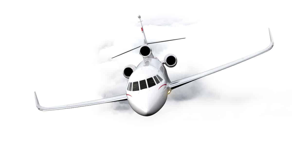 Lujoso avión de negocios 'trirreactor' de Dassault Aviation recibe algunas mejoras interesantes