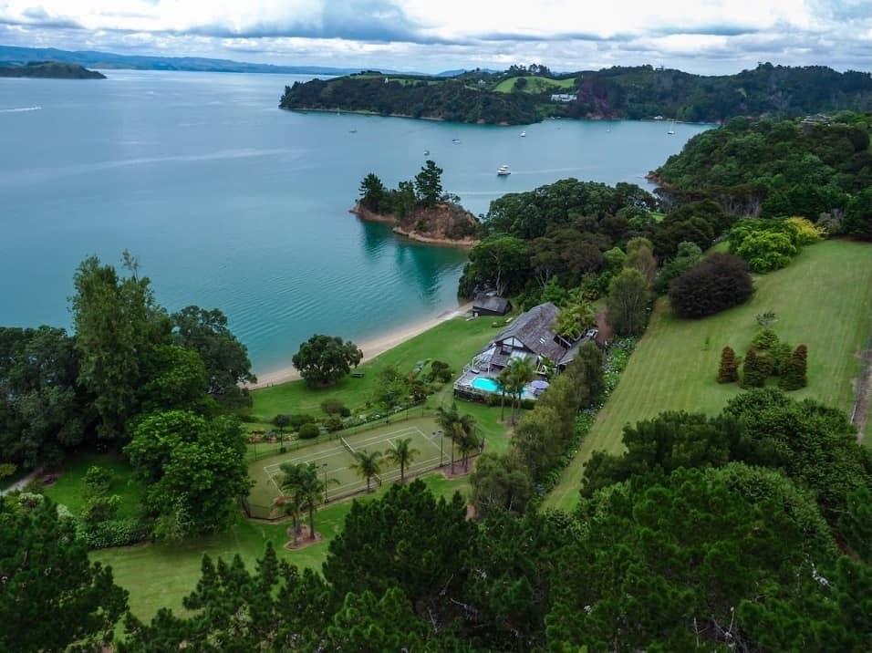A la venta esta preciosa casa en una isla paradisíaca en Nueva Zelanda