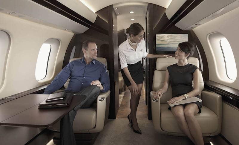 Bombardier Global 7000 - El avión de negocios más grande del mundo