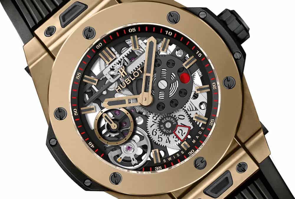 Reloj Big Bang Meca 10 Magic Gold Por Hublot