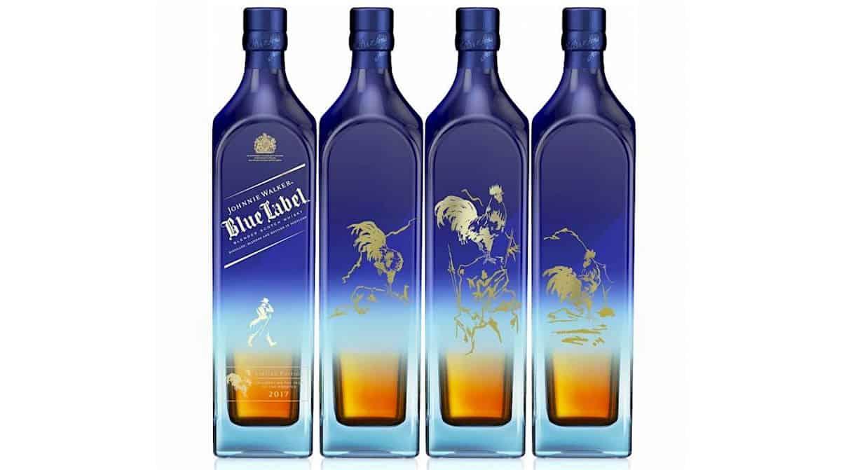 La edición limitada de Johnnie Walker Blue Label honra el año chino del Gallo