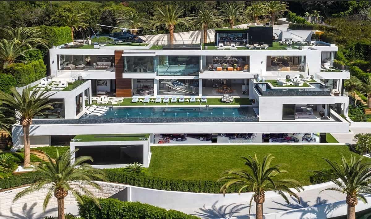 Haz un tour en la mega mansión más cara a la venta actualmente en Estados Unidos - Un palacio en Bel Air de ¡$250 MILLONES!