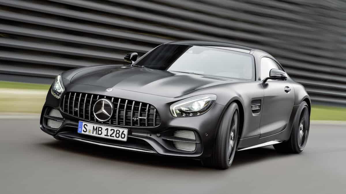 """Mercedes AMG GT C Coupé 2018 """"50 Edition"""""""