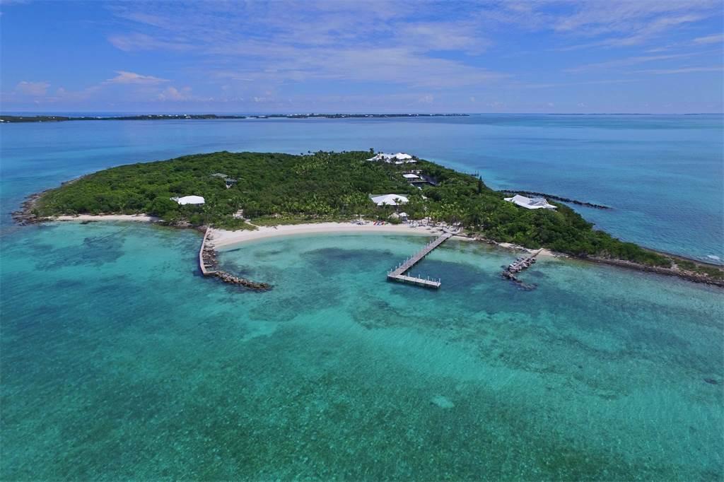Esta preciosa propiedad playera se encuentra a la venta en Cayo Gran Guana, Las Bahamas, en $16 millones