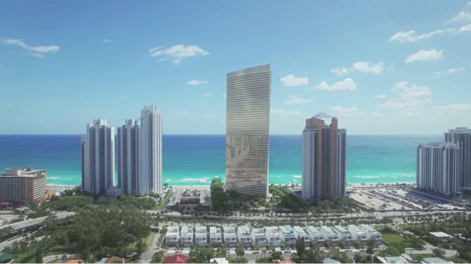 En $5.6 MILLONES se venden los ultra lujosos apartamentos Residences by Armani Casa frente a la playa en Florida