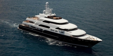 Por €588.000 la semana, ahora puedes alquilar el mega yate Martha Ann