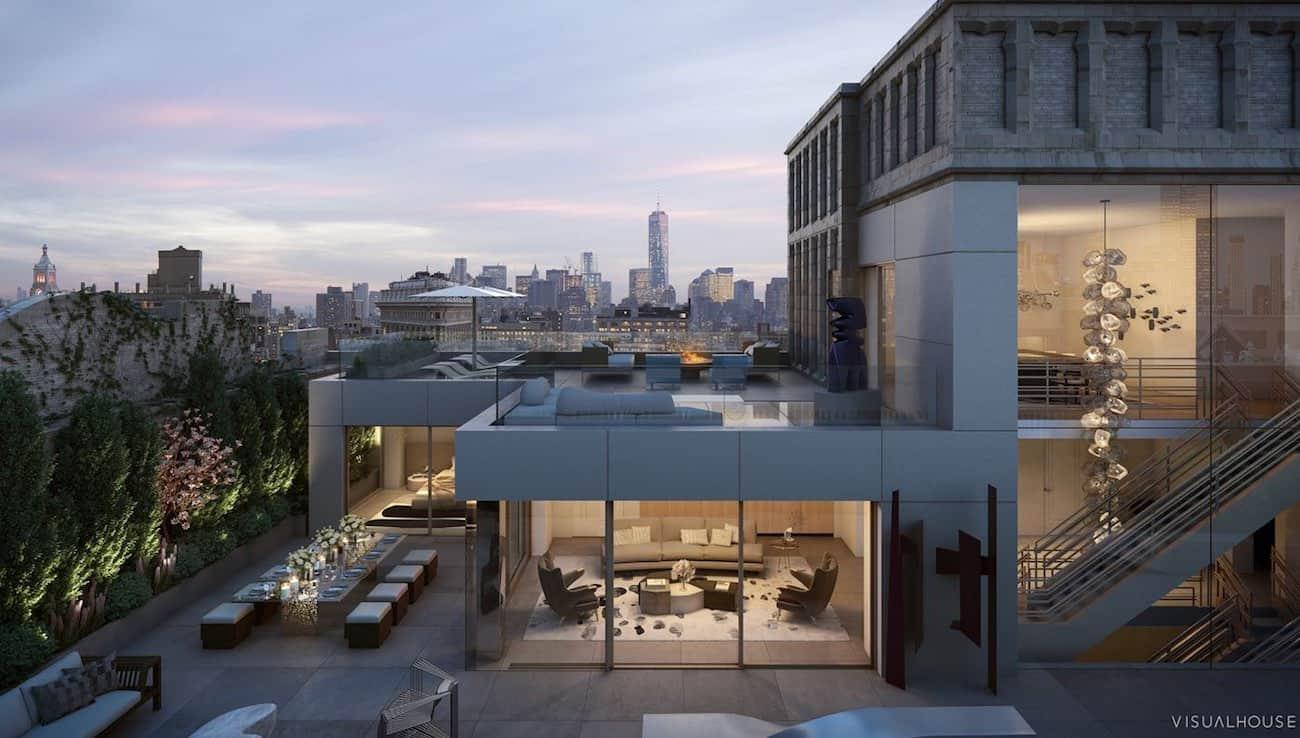 """Por $68.5 millones, ahora podrás comprar el ultra lujoso penthouse """"the Crown"""" en 212 Fifth Ave, Nueva York"""
