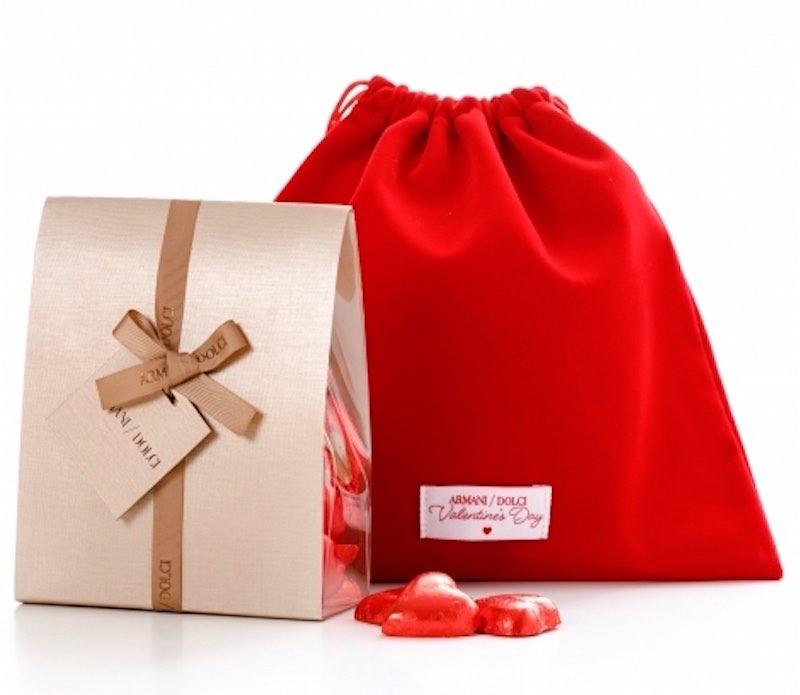Estos chocolates de Armani Dolci para San Valentín hablan completamente sobre el amor