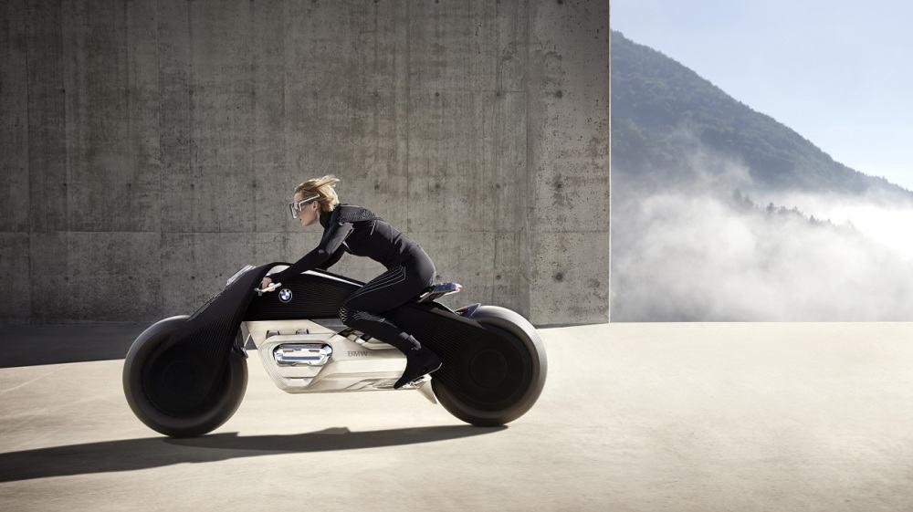 La increíble BMW Motorrad Vision Next 100, la brutal motocicleta inteligente del futuro