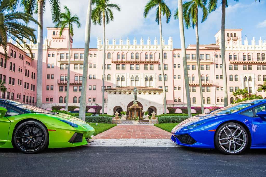 Conduzca un MEGA PODEROSO Lamborghini cuando te hospedes en un Waldorf Astoria durante el 2017