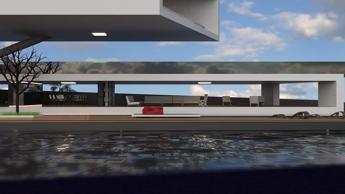 Antithesis: Así luce la verdadera casa flotante para los mega ricos amantes de los súper yates de lujo