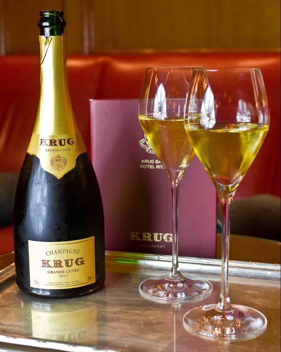 Exclusivo maridaje de tapas y champagne KRUG en el Hotel Ritz, Madrid