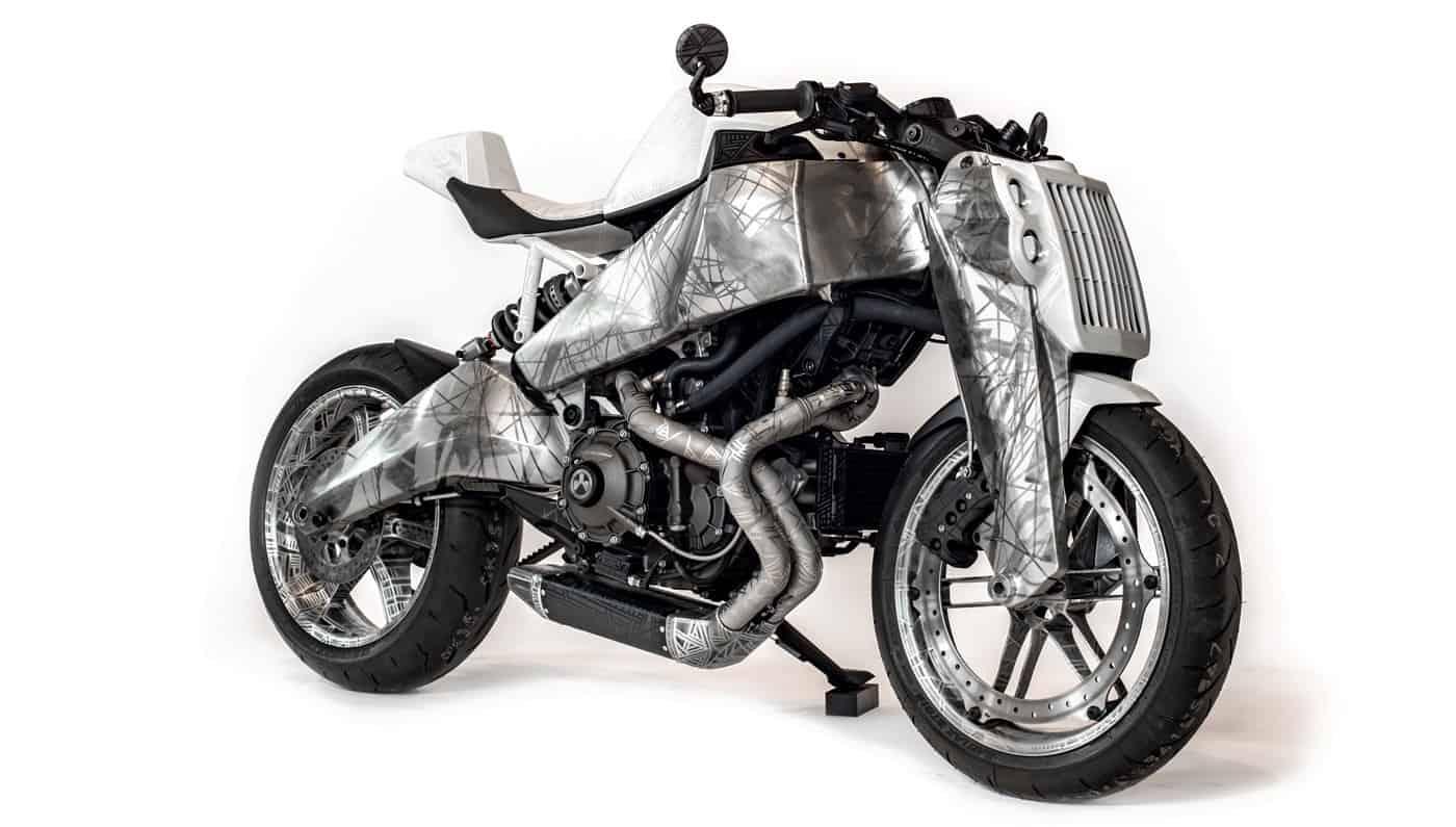 """Ronin Motor Works presenta la última de sus exclusivas motocicletas """"Art Bike"""""""