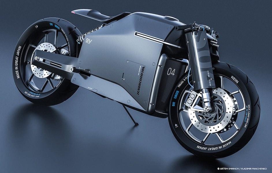 Samurai: Este concepto de motocicleta es la perfección en fibra de carbono