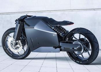 Samurai: Esta motocicleta concepto es la perfección en fibra de carbono