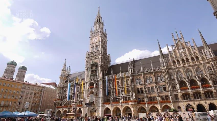 Haz un mágico recorrido por la ciudad de Múnich en este impresionante vídeo 4K