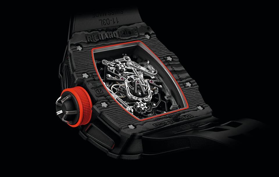 Este Richard Mille 50-03 McLaren F1 es el tourbillon más liviano jamás fabricado