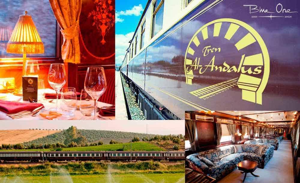 Este San Valentín Blue One te lleva una semana a bordo del lujoso tren AL ANDALUS
