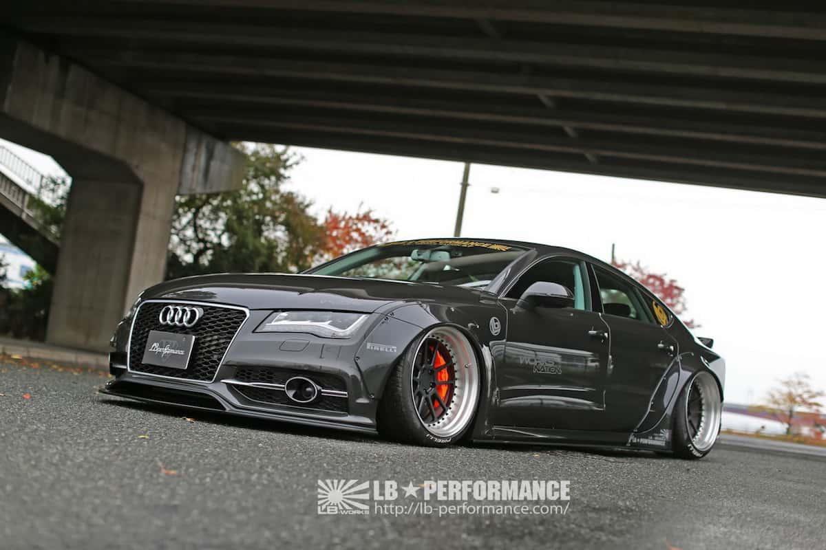 Audi A7 & S7 recibe mejoras elegantes por Liberty Walk