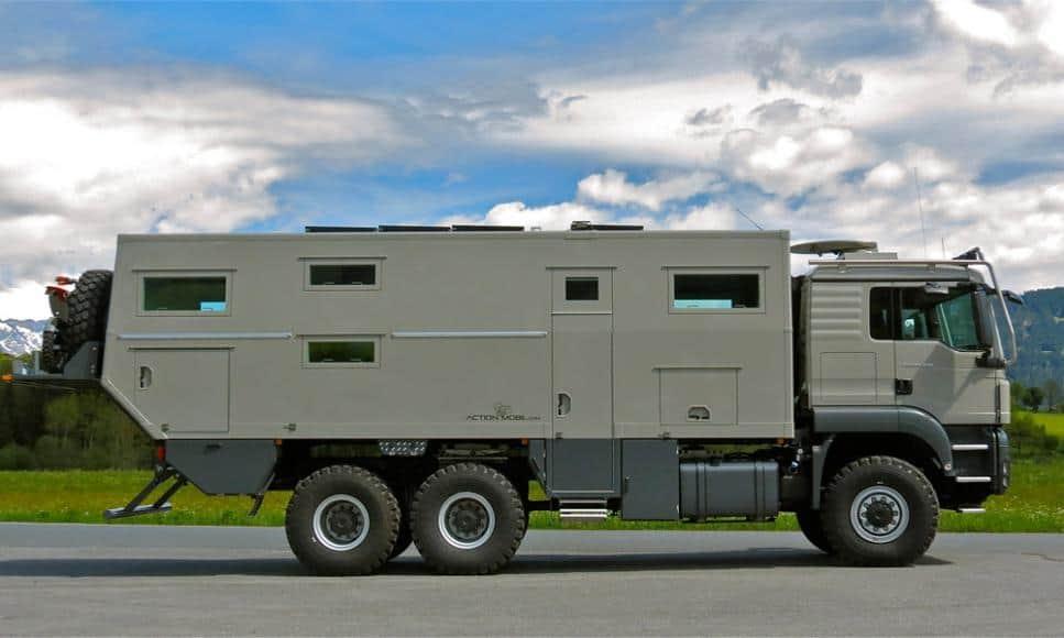 Con esta autocaravana Globecruiser de $765.000 podrás llegar hasta el fin del mundo y sobrevivir al Apocalipsis zombi sin sufrir un rasguño