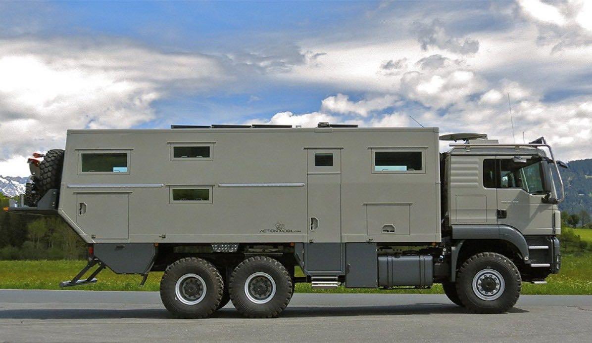 Con esta autocaravana de $765,000 podrás llegar hasta el fin del mundo y sobrevivir al apocalipsis zombi sin sufrir un rasguño