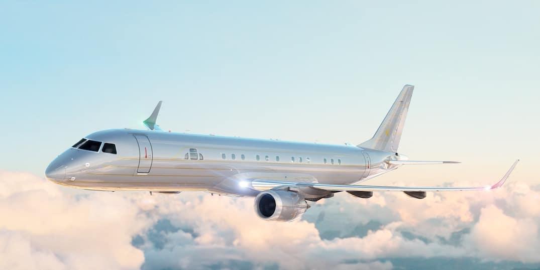 Embraer presenta dos aviones privados personalizados por Art Deco