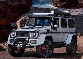 BRABUS 550 Adventure 4×4²: El vehículo perfecto para un apocalipsis zombie