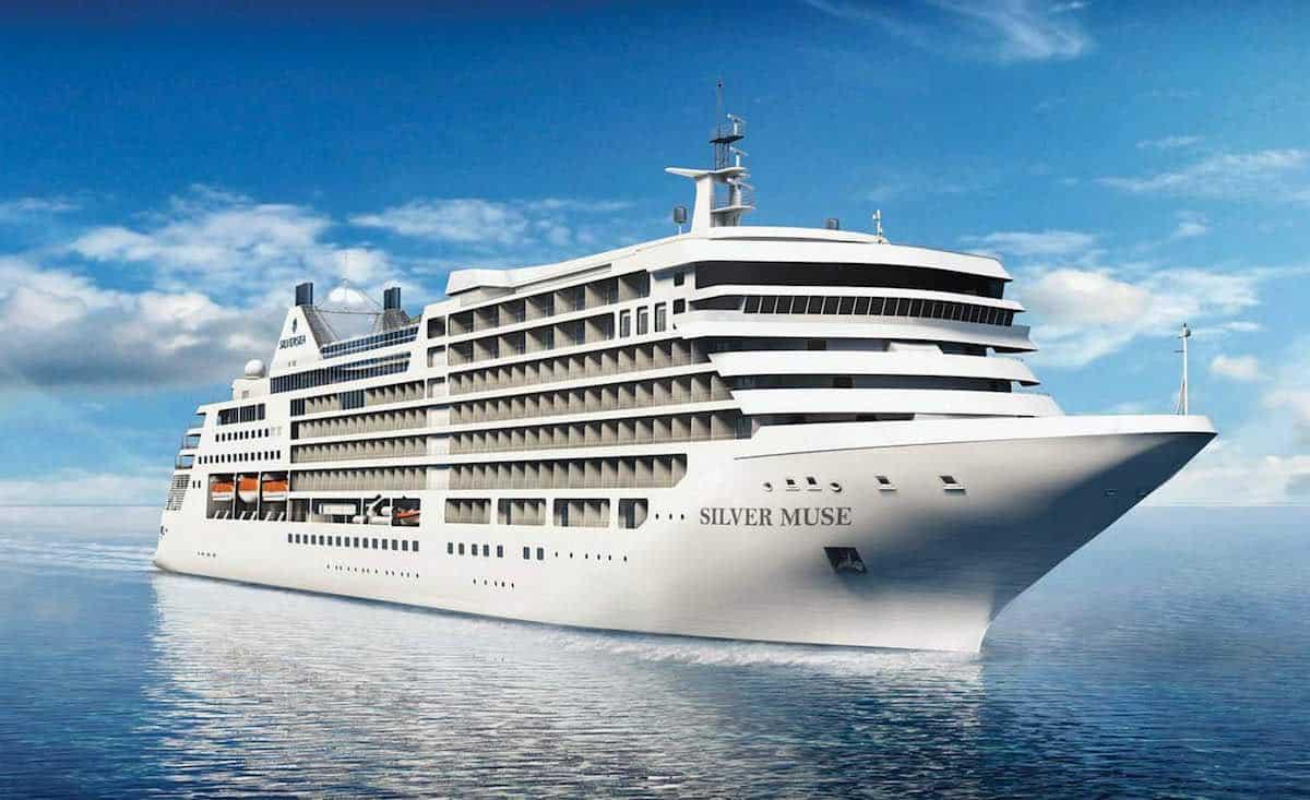 Silver Muse, el crucero más lujoso de Silversea Cruise ya está listo para navegar