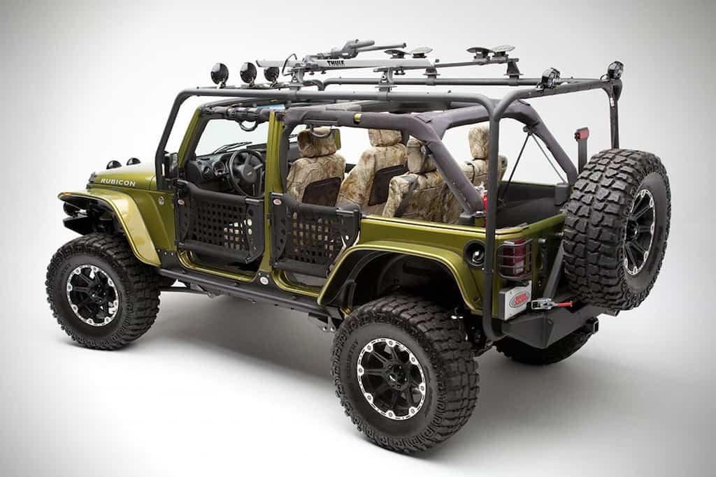 Body Armor 4x4 ¡Exclusivas partes para todoterrenos!