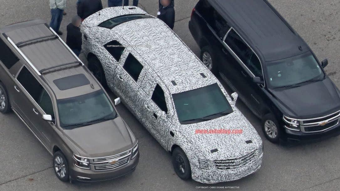 La nueva limusina del presidente de los Estados Unidos -- The Beast -- está casi lista ¡y es mucho más grande!