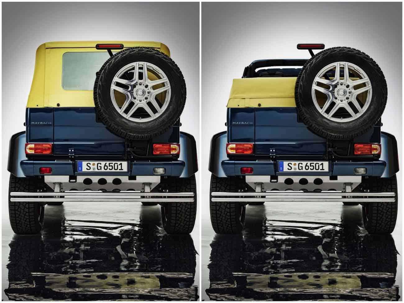 "Mercedes-Maybach G650 ""Landaulet"" 2017, poderoso biturbo V12 y 630 caballos de fuerza"