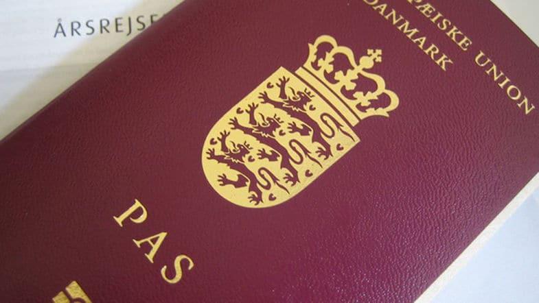 Pasaporte de Dinamarca