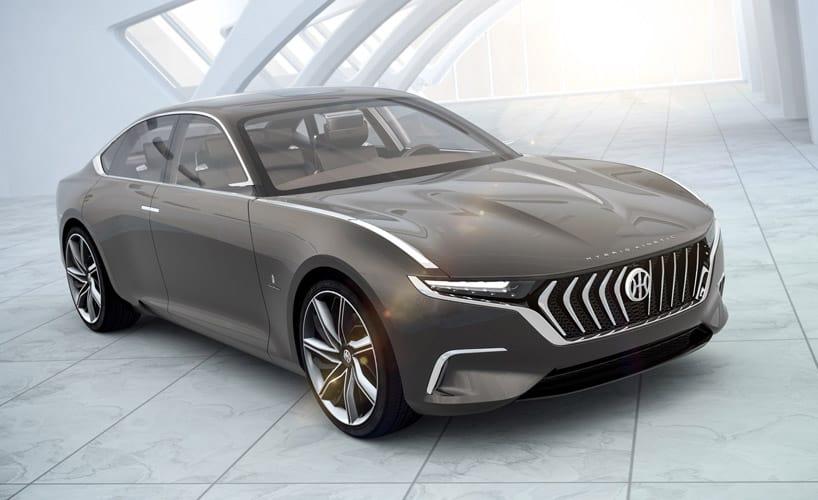 H600: Un ecológico sedán de lujo por Pininfarina