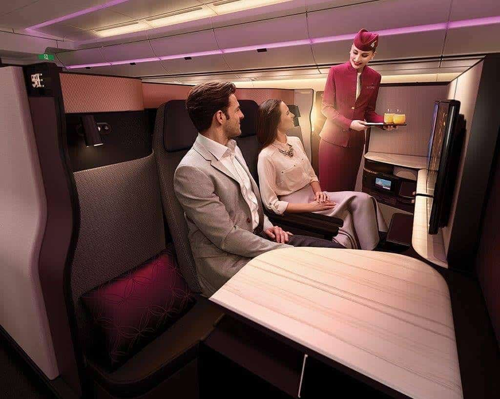 #QSuite - Así será la espectacular suite de lujo para la Clase Business de Qatar Airways