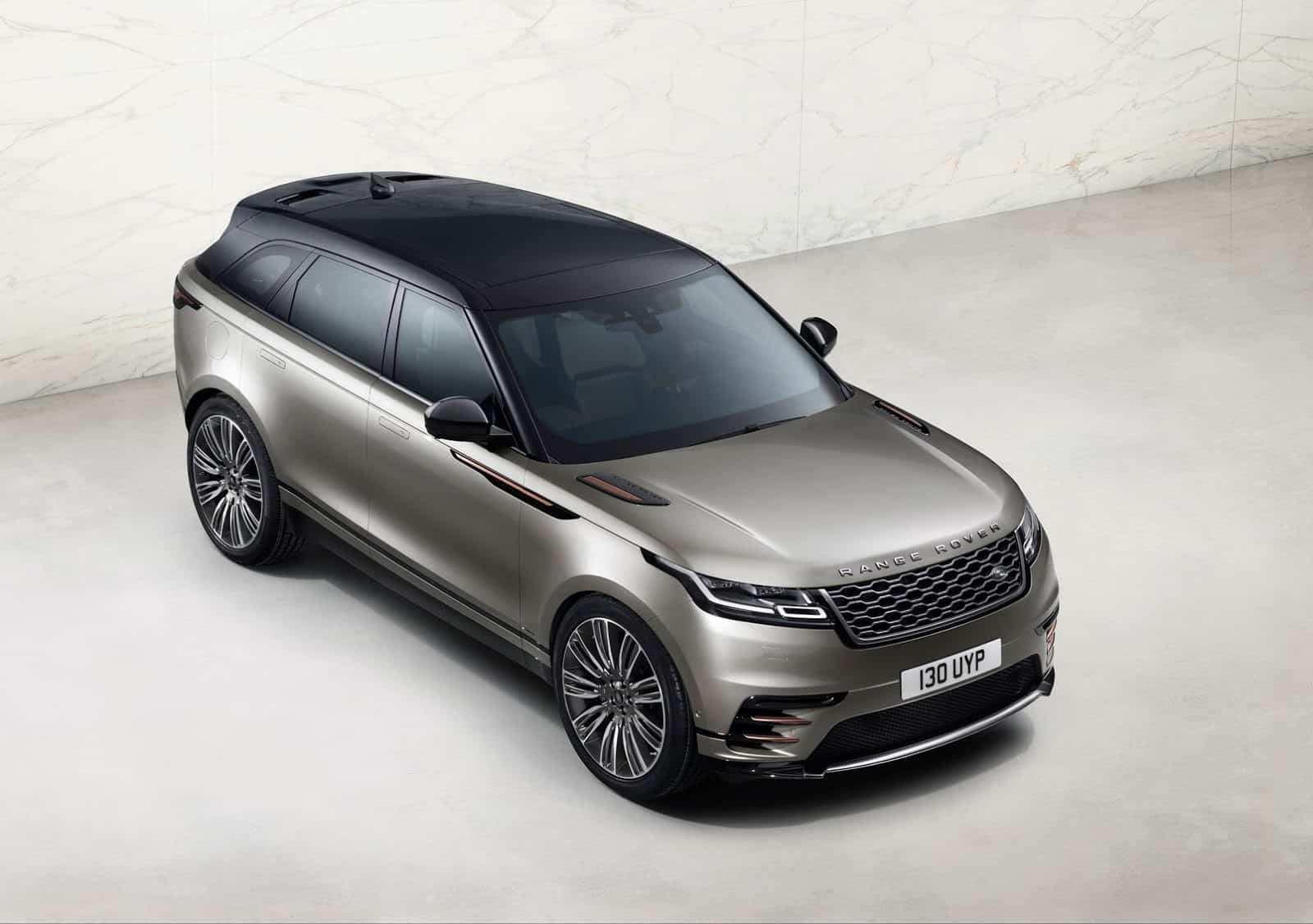 Esta es la Range Rover Velar 2018