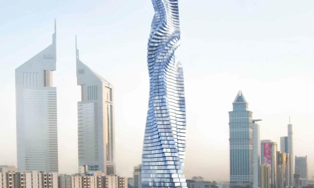 Dubái construirá el primer rascacielos GIRATORIO del planeta para el 2020