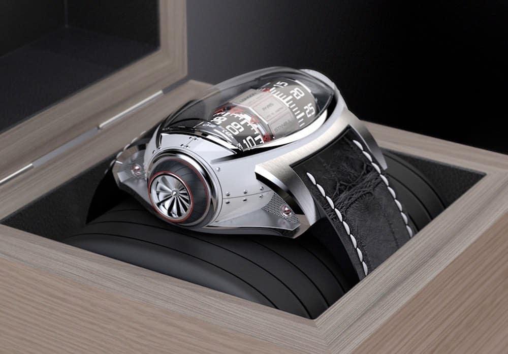 BAILLOT Germain presenta un moderno reloj Concepto inspirado en la aeronáutica
