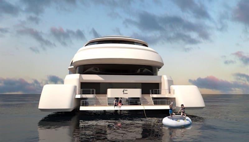 Rén: Diseñan super yate concepto exclusivamente para la élite china
