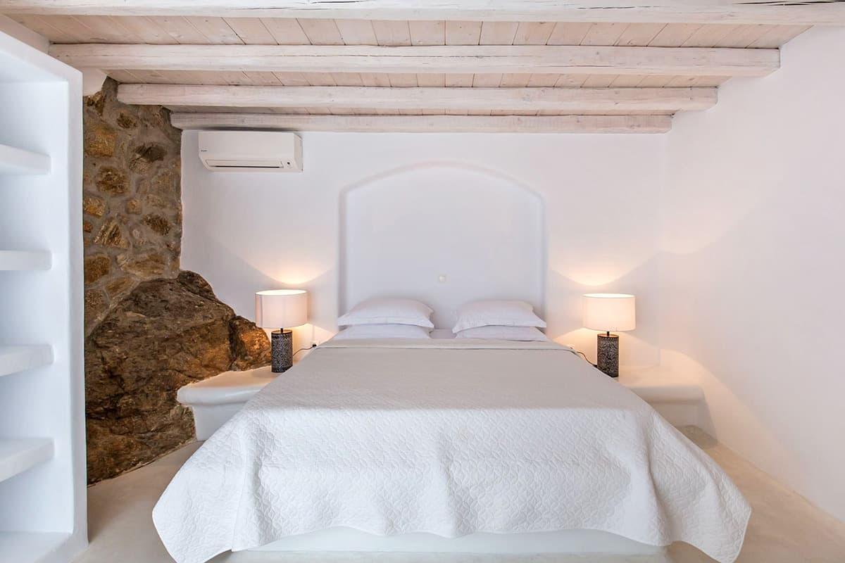 Exclusiva villa frente al mar y con piscina privada en Miconos, Grecia
