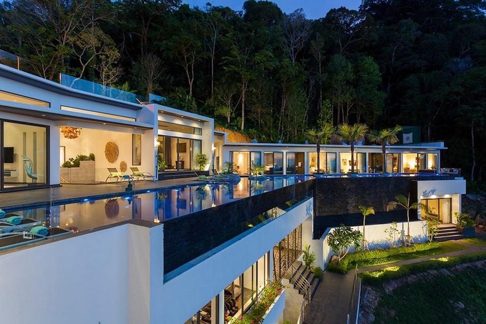 Mega excepcional propiedad en Phuket, Tailandia con magníficas vistas al mar