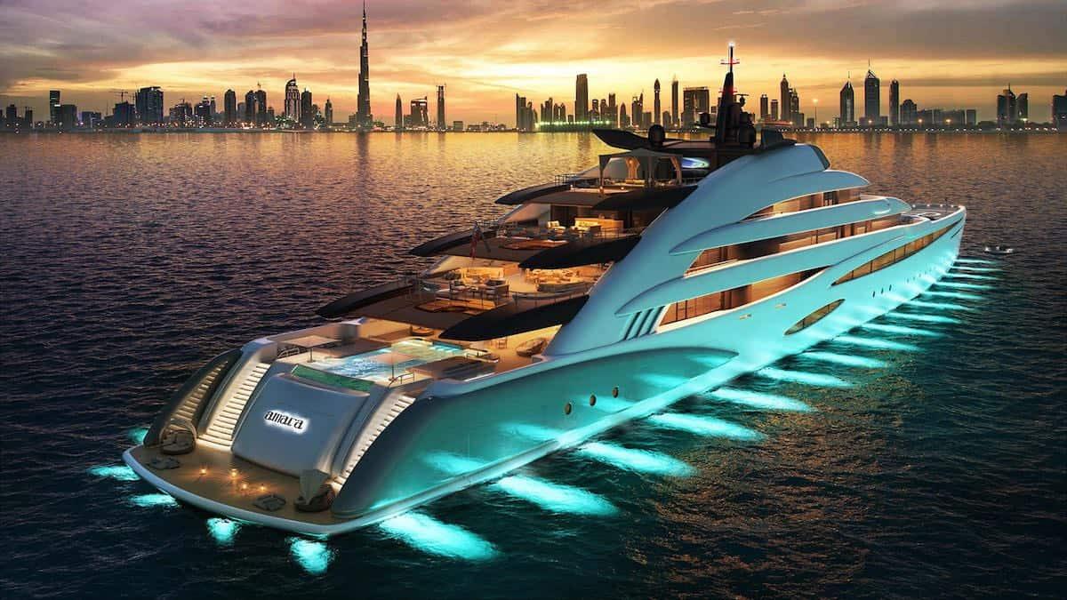 Oceanco presenta Amara, un mega yate de 120 metros