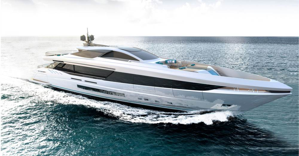 Mangusta GranSport 44: El súper yate perfecto para navegar alrededor del mundo