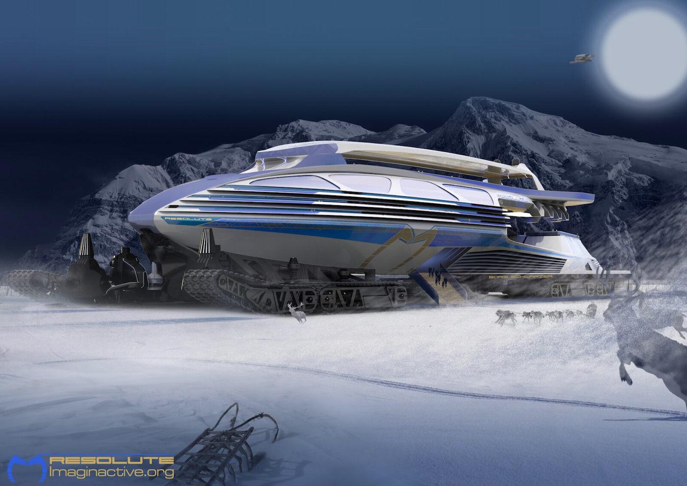Resolute, concepto de vehículo de Charles Bombardier.