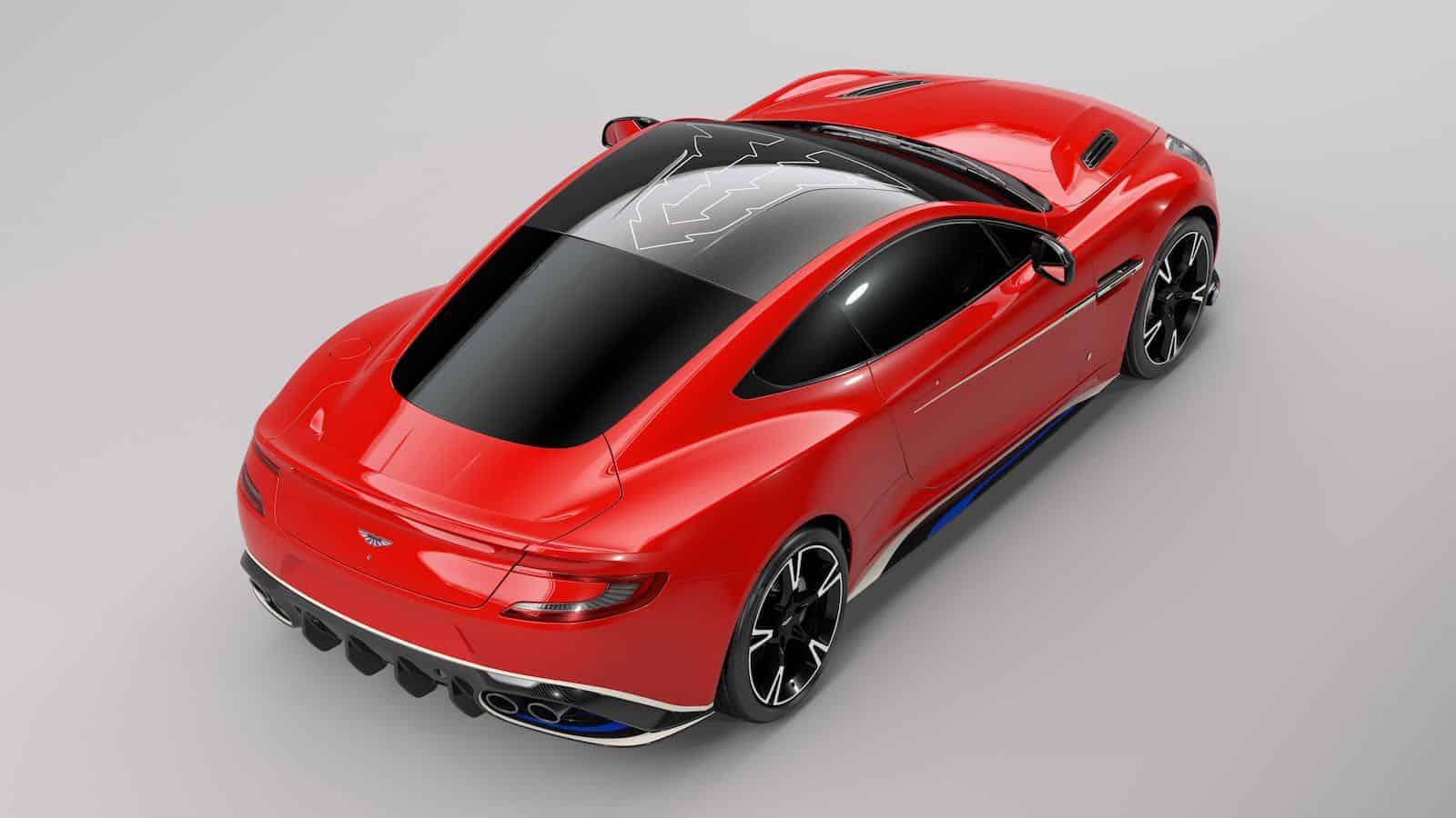 Aston Martin Vanquish S Red Arrows Edition por Q